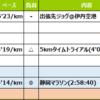 週報:静岡マラソンの第8週