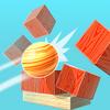 【Knock Balls】ブロックを砲弾で当てるゲーム~幼い時に積み木で作って懐かしいと思った~