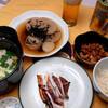 夕食:レンジで土鍋を使いコンソメスープをキャベツで