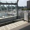 立体交差 相鉄線星川駅付近を車窓から眺める