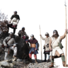 戦うブリタニア帝国の戦士たち:ローマ軍に牙をむいた戦士の心