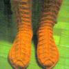くつした:Birch leaf socks:両足完成