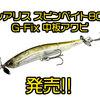 【DUO】琵琶湖北湖プロガイド西島チューニングモデルの限定カラー「レアリス スピンベイト80 G-Fix 中板アワビ」発売!