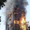 英高層住宅火災、「自室待機」指導で被害拡大か