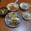 幸運な病のレシピ( 257 )朝:身欠きにしん、チンジャオロース風バラ肉炒め、大根菜の味噌汁