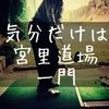 「ゴルフは腰の高さから下のスイングは全て共通」気分は宮里道場一門。