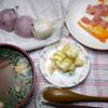 朝食:冷凍あんこ餅、炊飯保温器でほぼ食べることができる状態に