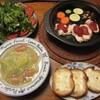鶏肉と野菜のタジン鍋焼き