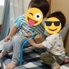 子ども2人とワンオペ風呂はこんなかんじ。お風呂ルーティン。2歳半差(3学年差)男の子二児ママ。おすすめバスローブをご紹介!!
