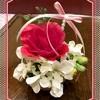 テーブルの花★春バージョン