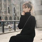 【2018 秋冬】長め丈が断然今っぽい!膝下ワンピで作るトレンド洒落見えコーデ♡