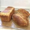 昨日焼いたパンと、掃除