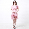 ドレスルームアミでいちごジュースのような桃色のステージドレスを購入された方からのご意見