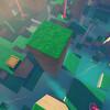Steamのゲーム『Refunct』をプレイ 一人称+パルクールのリラックス系シンプルアクション