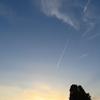 春過ぎた黄昏の空の神話