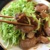 おつまみレシピ 豚肉の生姜焼き