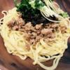 芝麻醤(チーマージャン)と肉みそのピリ辛和え麺のレシピ!ガッツリ男子におすすめ!