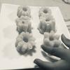 4歳の子供だけで作れるドーナツ。