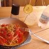 完熟トマトとレモンの冷製パスタ