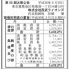 株式会社西武ライオンズ 第69期決算公告