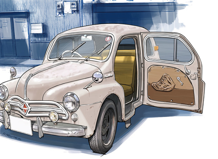 【下野康史の旧車エッセイ】 日野・ルノー フランス人の顔をした小さな巨人