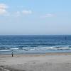 夫婦で日本一周 福島の薄磯海水浴場で感動して股間を触ってる男性に追いかけられる日