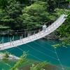 蓬莱橋、夢の吊り橋。静岡の橋を見てきました。