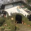 春、東京郊外、「魔女の館」にて。