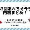【あべろぐラジオ 番外編】Twitterヘッダーリニューアルのお話!『第43回あべろぐラジオ』内容まとめてみたよ!