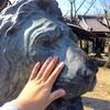 東京・向島の三囲神社で、ライオン像を撫でて来ました!《撫◯◯シリーズ #2》
