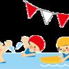 子供達が大人用プールにデビュー   子供のやる気を見逃さない‼