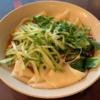 中国のラーメン 〜油泼裤带面(油ベルト麺)〜