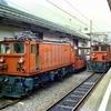 富山の鉄道編 名鉄緑色電車を彷彿させる14710形