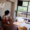 レッスンレポート)8/8本川町教室 レース編みにハマりました