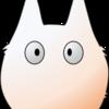 トトロ(小)描いてみた|ジブリ|Microsoft PowerPoint|MATSU
