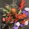 【花を飾る】#14 エキゾチックな花束