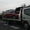 狛江市から他府県ナンバーの車検切れ故障車をレッカー車で廃車の引き取りしました。