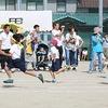 加木屋コミュニティ運動会④ 1・2年生徒競走