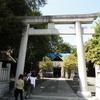 神社の改修工事を見学してきました