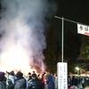 全国最大級の正月送り 国宝・大崎八幡宮の「松焚祭」(宮城)