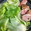 レタスが安くなりました~涼しくなって煮物も美味しい、今日の夕飯です。