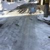 3月中旬の札幌の道路状況