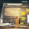 【省エネ】Omaker LEDデスクライトは5段階調光と色温度切り替えが目に優しいライト