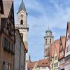 ロマンチック街道④ ~ディンケルスビュール 中世の街並みの中を歩ける街~