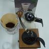 コーヒー⑫ やっとデビューの「コーヒーセット」