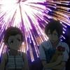 『グラスリップ』第1話「花火」の炸裂音響