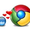 Google ChromeをArtTipsでチョイと便利に