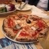 グルテンフリーはお休み。会社の打ち上げがピザ屋だったという。。(^^;)
