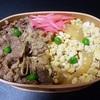 【再現弁当】浅草今半の牛玉弁当を冷凍牛丼の具で再現してみた【電子レンジのみ】