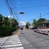 大谷 都市計画道路中新田鍛冶返線(市道11号線)と県道407号線(市道1号線)と市道32号線の変則交差点